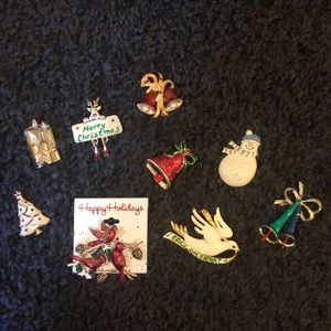 Christmas pin bundle